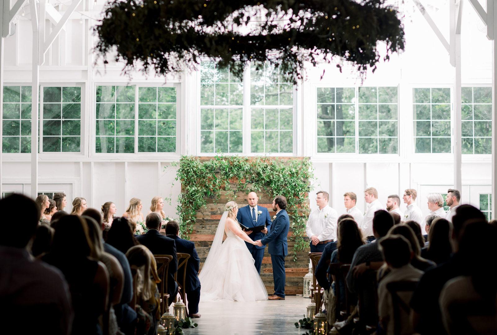 Kindred Barn Wedding Ceremony