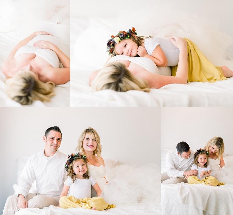 family of three photo shoot