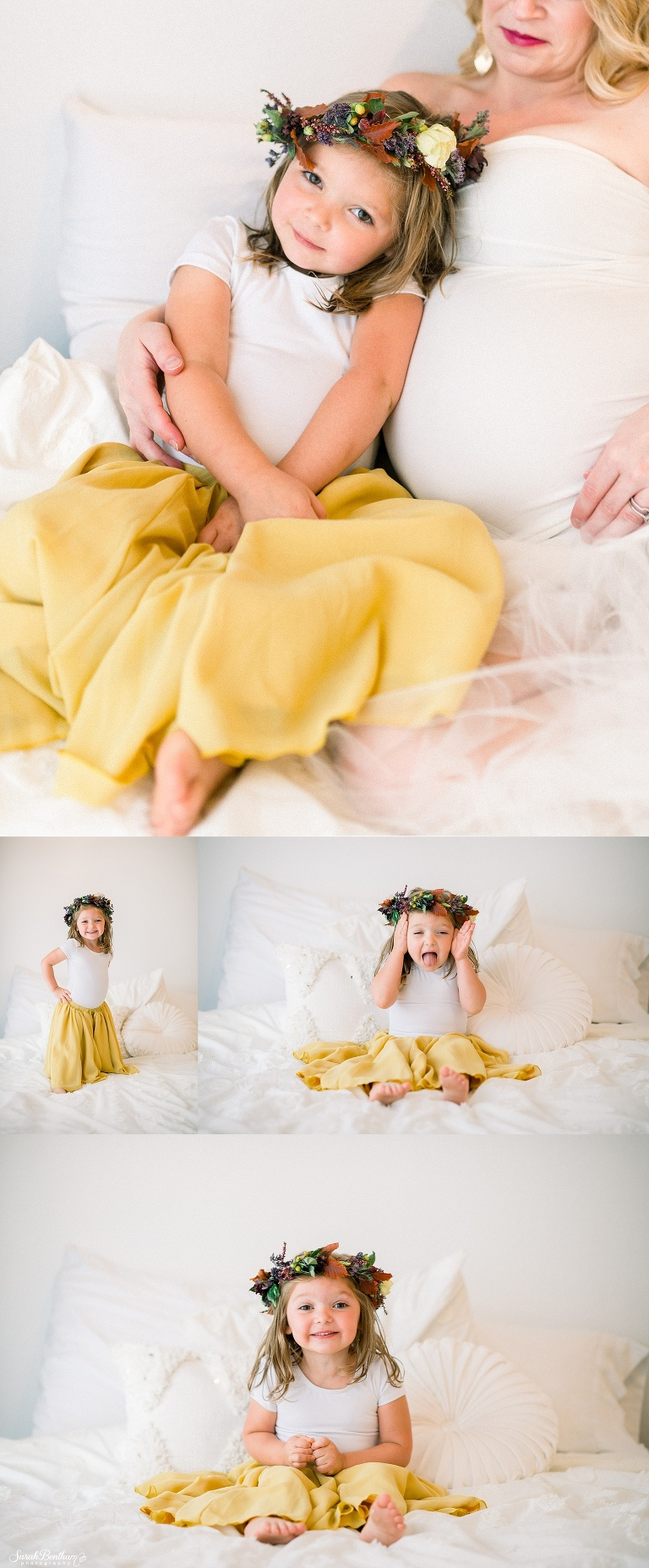 light and airy maternity photography